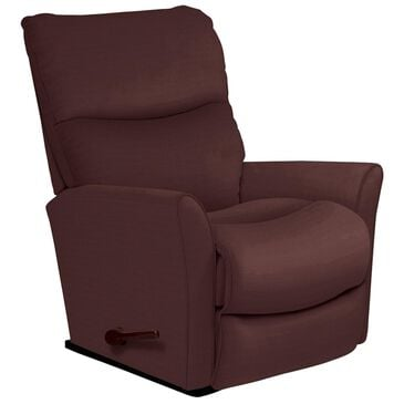 La-Z-Boy Rowan Glider Swivel Recliner in Burgundy, , large