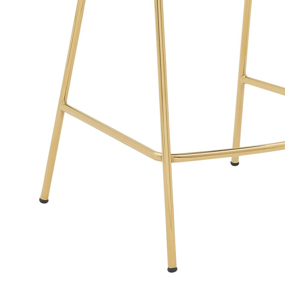 """Blue River Nara 26"""" Counter Stool in Blue and Gold, , large"""