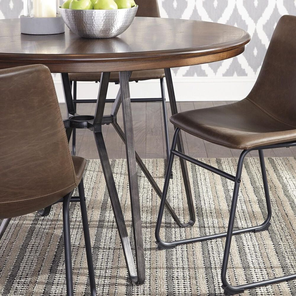 Signature Design by Ashley Centiar 5-Piece Dining Set in Two-Tone Brown, , large