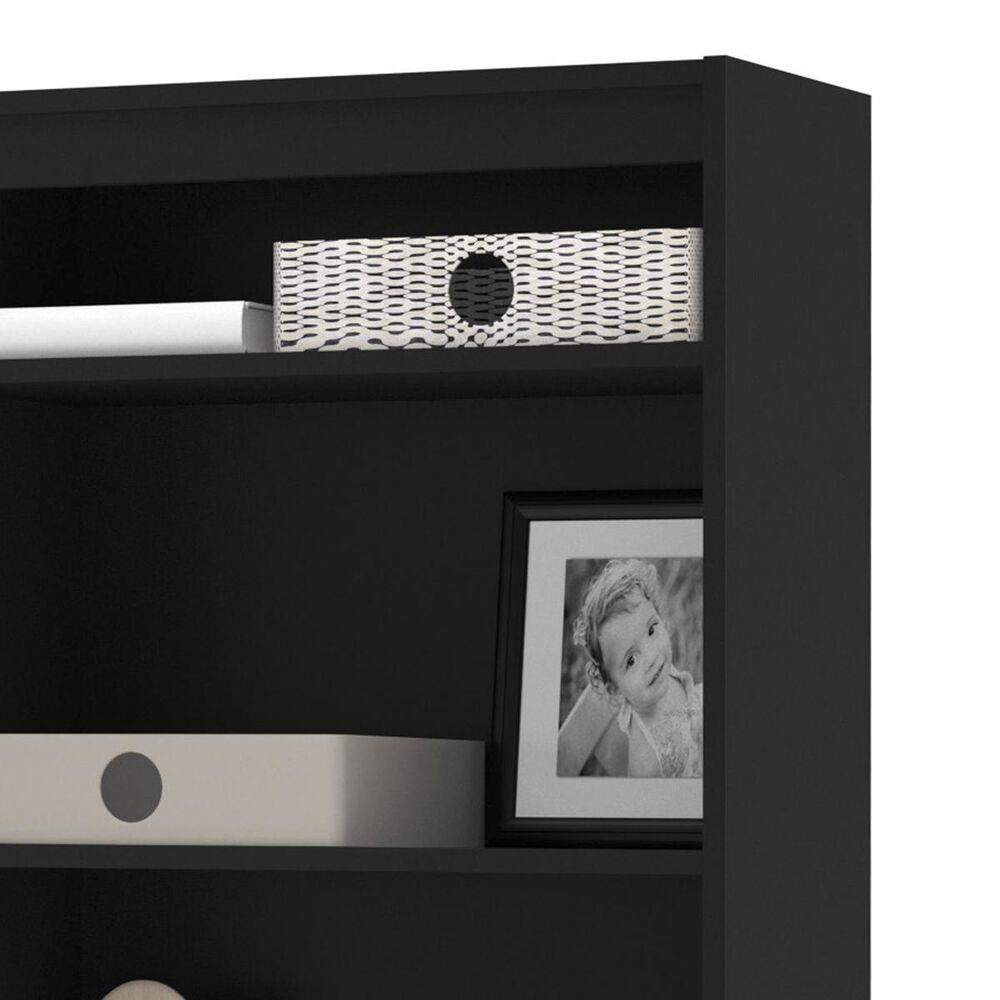 Bestar Standard Bookcase In Black, , large