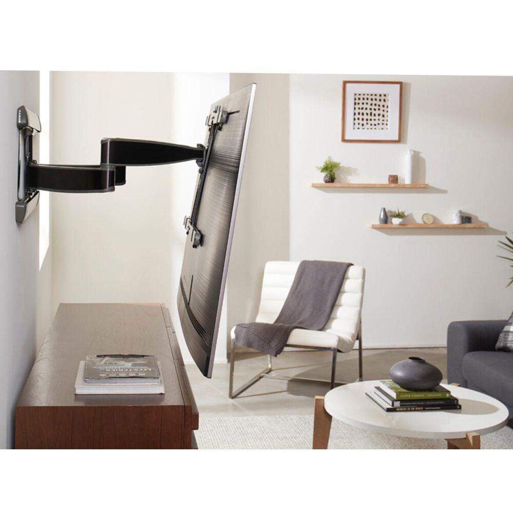 "Sanus Advanced Full-Motion Premium TV Mount for 42"" to 90"" TVs in Brushed Black Stainless, , large"