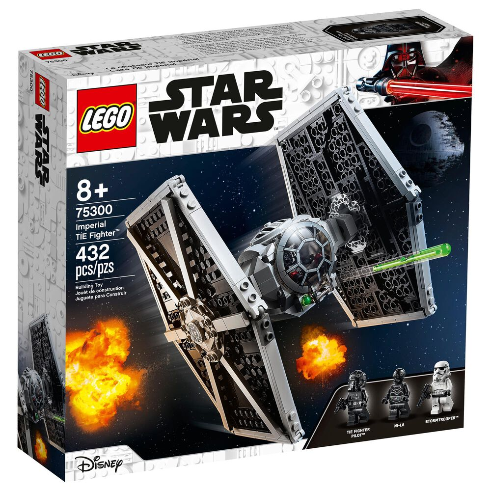 LEGO Star Wars Imperial TIE Fighter Building Toy, , large