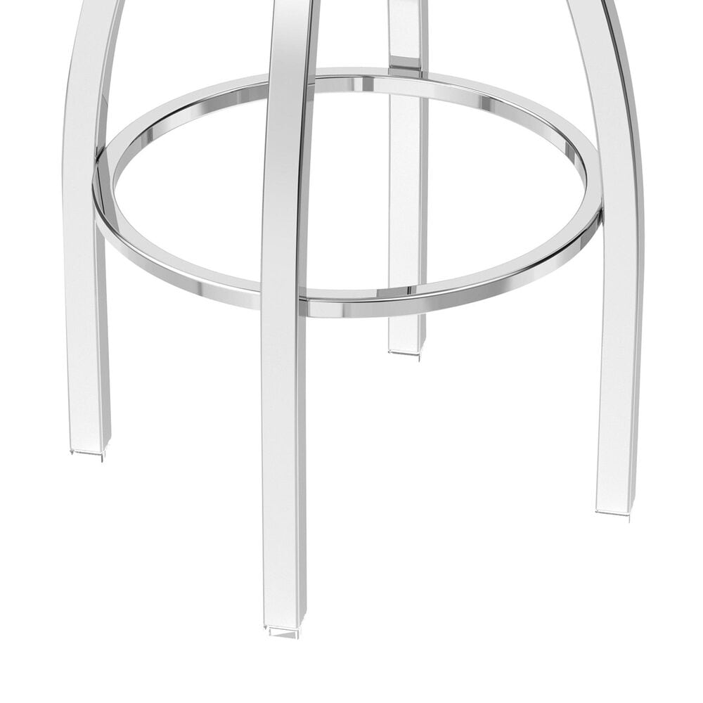 "Holland Bar Stool 802 Misha 25"" Swivel Counter Stool with Chrome and Medium Maple Seat, , large"