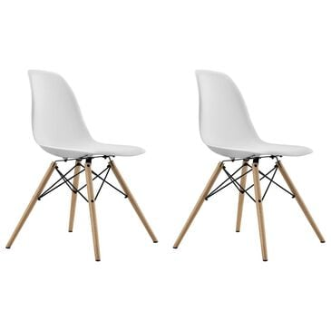 DHP Moorea Chair in White (Set of 2), , large