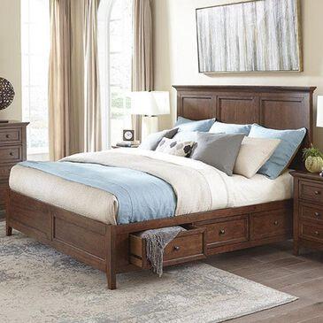 Hawthorne Furniture San Mateo King Storage Bed in Tuscan, , large