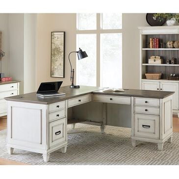 Wycliff Bay Hartford Right Hand Facing L-Shaped Desk, , large
