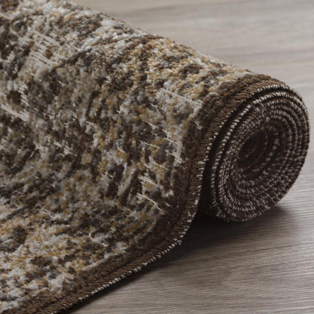 "Dalyn Rug Company Mercier MR1 1'6"" x 2'5"" Chocolate Scatter Rug, , large"