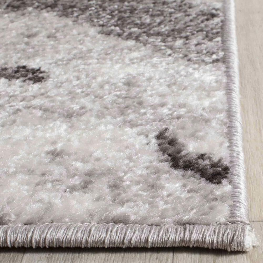 Safavieh Adirondack ADR121P 4' x 6' Silver and Charcoal Area Rug, , large