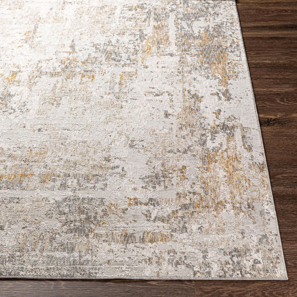 "Surya Carmel 5' x 7'3"" Camel, Mustard, Navy and Light Gray Area Rug, , large"