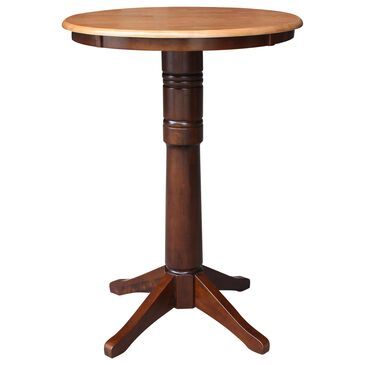 """International Concepts 30"""" Dining Table in Cinnamon/Espresso, , large"""