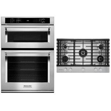 KitchenAid 2-Piece Kitchen Bundle with Gas Cooktop, , large