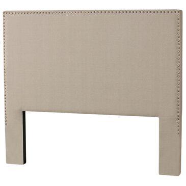 Richlands Furniture Megan King Panel Headboard in Dove Gray, , large