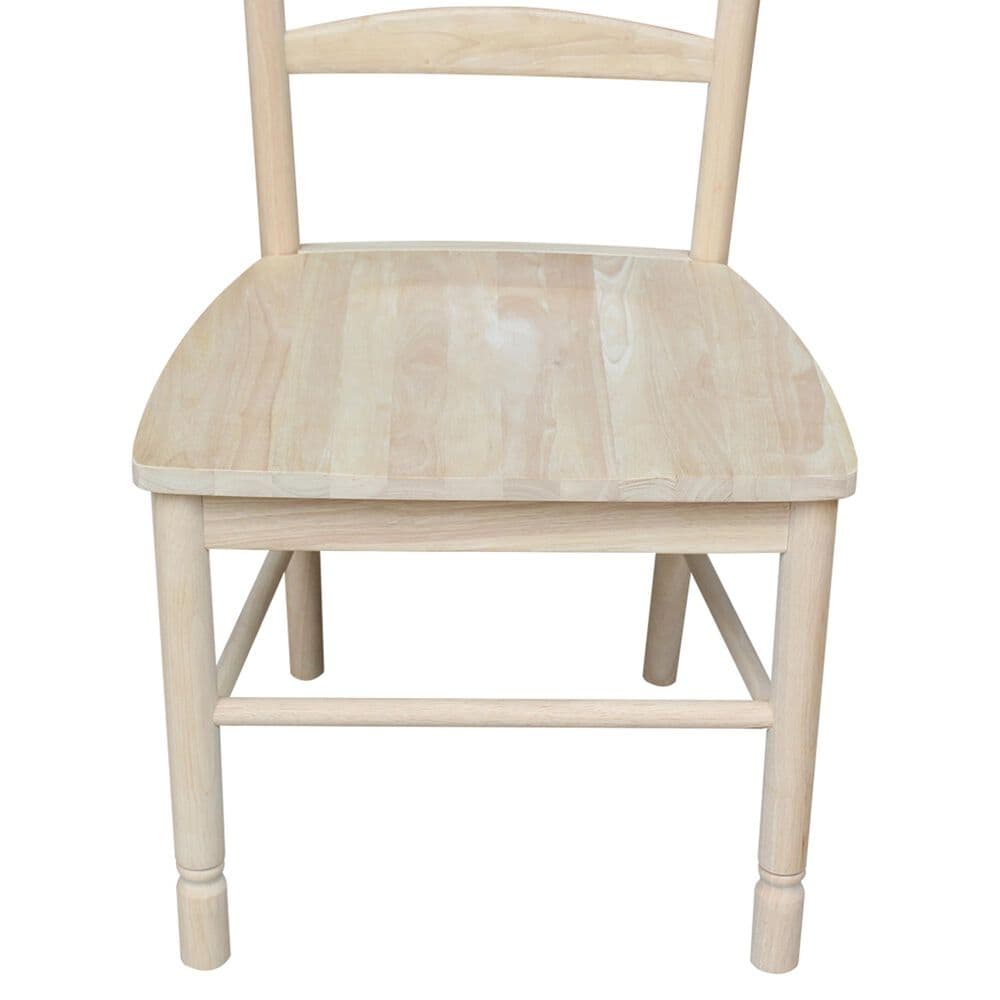 International Concepts Bedford Chair in Unfinished (Set of 2), , large