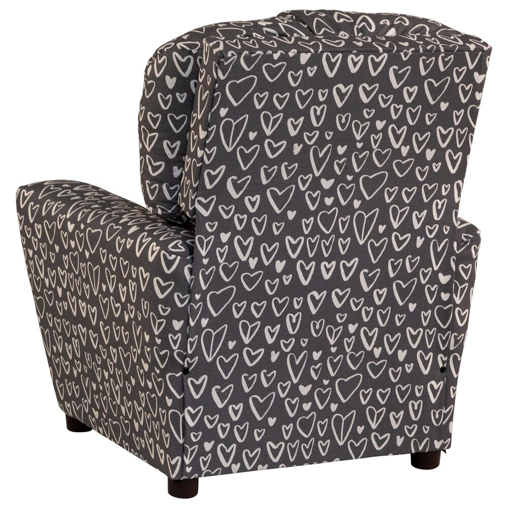 Brazil Childs Recliner with Cupholder in Gray, , large