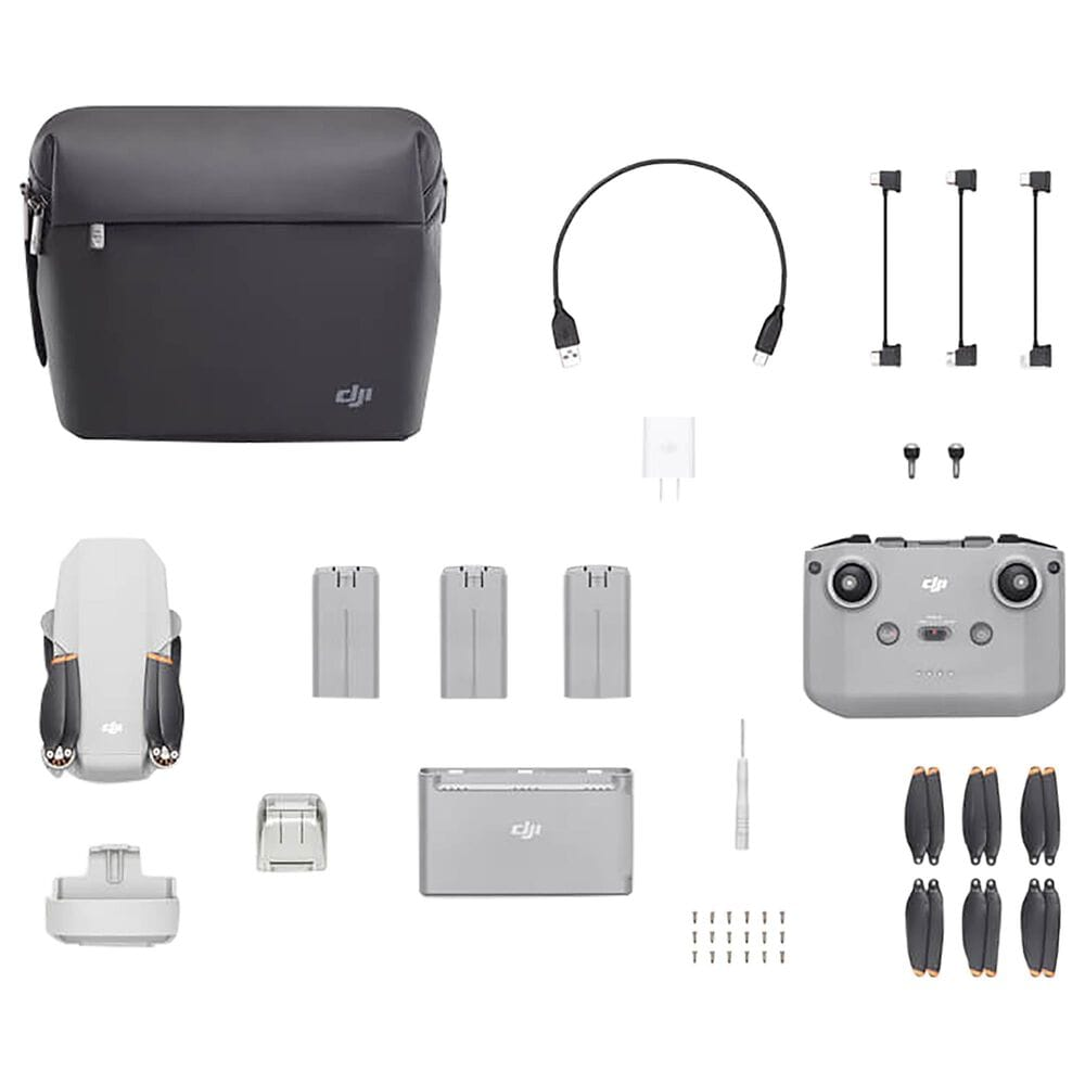 DJI Mini 2 Fly More Combo Drone in Grey, , large