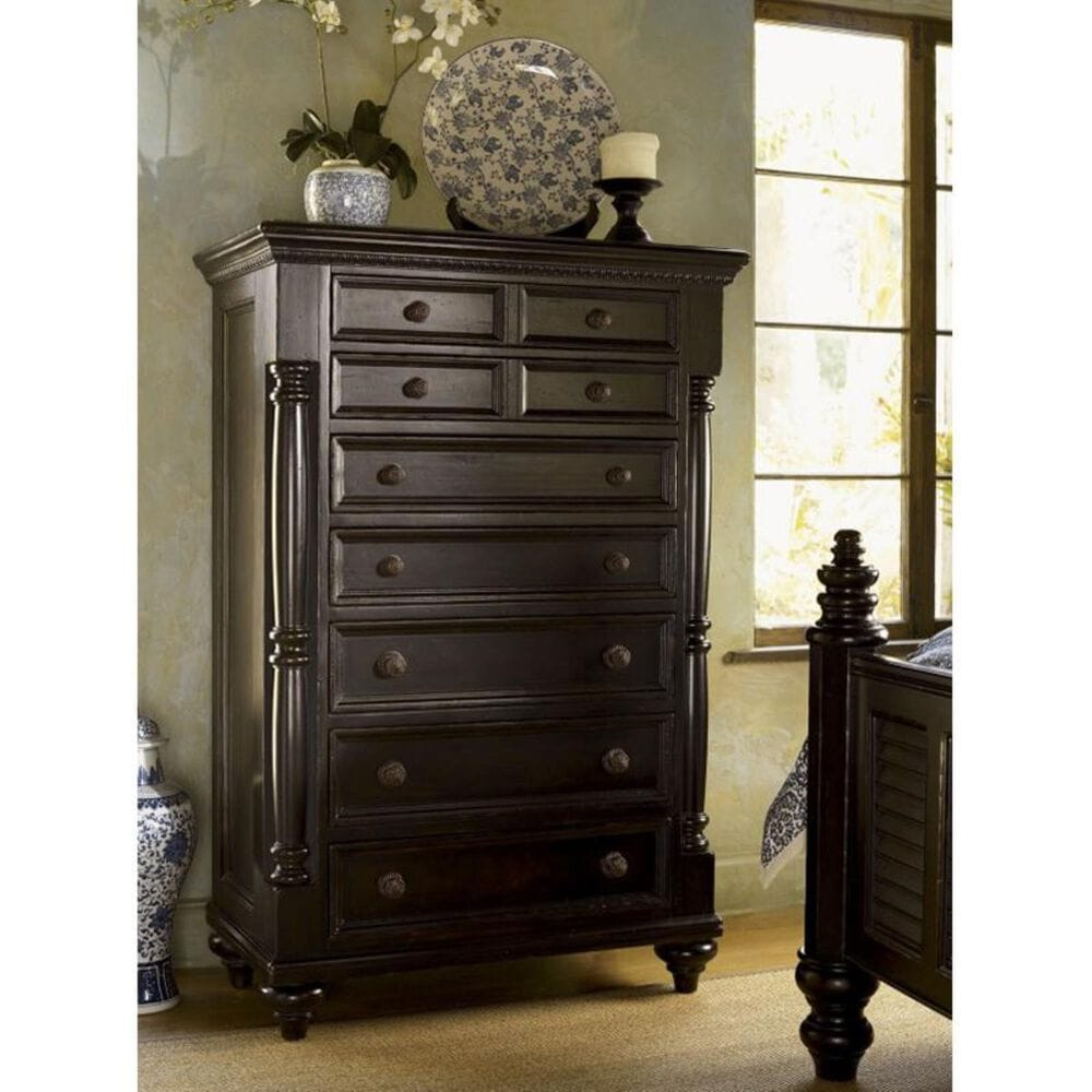 Tommy Bahama Home Kingstown 7 Drawer Stony Point Chest in Tamarind, , large