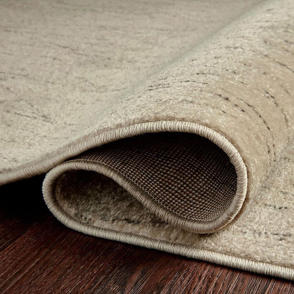 Loloi II Bowery 4' x 6' Beige and Pepper Area Rug, , large