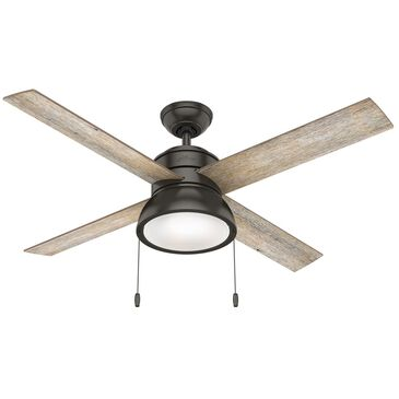 """Hunter Loki with LED Light 52"""" Ceiling Fan in Noble Bronze, , large"""