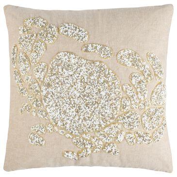 """Safavieh Pendi 20"""" Pillow in Brown, , large"""