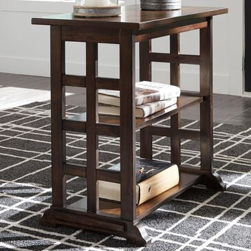 Signature Design by Ashley Braunsen Wood Chair Side End Table in Brown, , large
