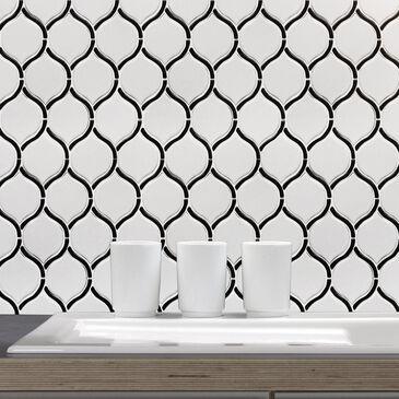 "Emser Divine Gloss Ares 10"" x 12"" Ceramic Mosaic Sheet, , large"