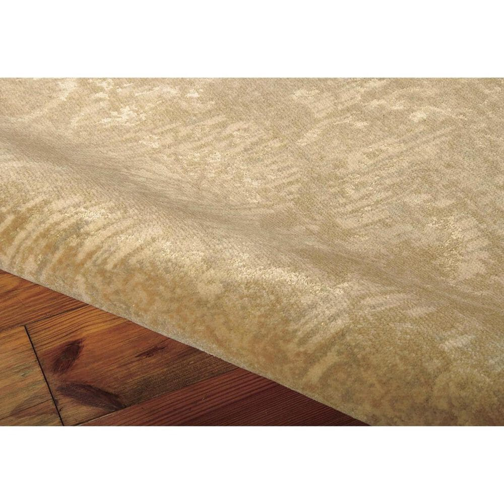 """Nourison Silk Elements SKE03 8'6"""" x 11'6"""" Sand Area Rug, , large"""
