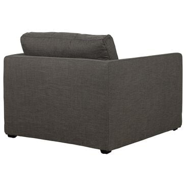 Interlochen Slip Cover Chair in Smoke Gray, , large