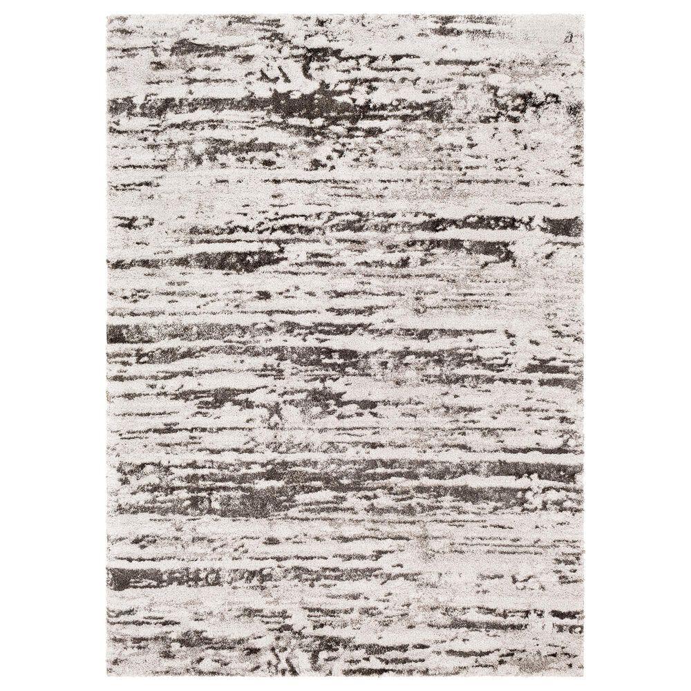 "Surya Venice VNE-2301 4' x 5'9"" Charcoal, Gray and Ivory Area Rug, , large"