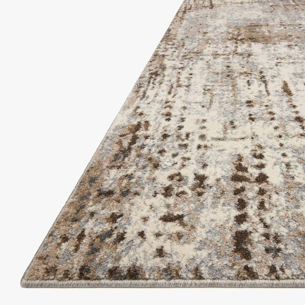 "Loloi II Austen 2'4"" x 8' Natural and Mocha Runner, , large"