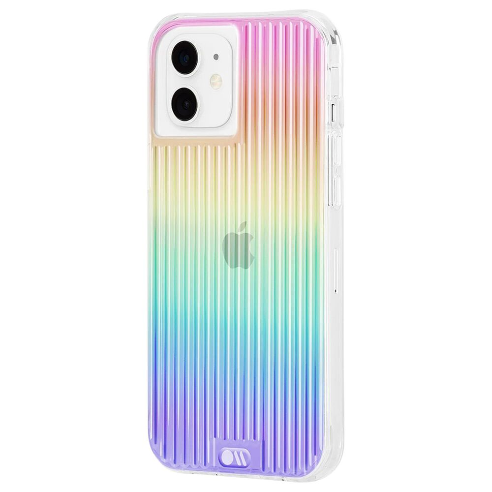 Case-Mate Tough Groove Case With Micropel For Apple iPhone 12 Mini in Iridescent, , large