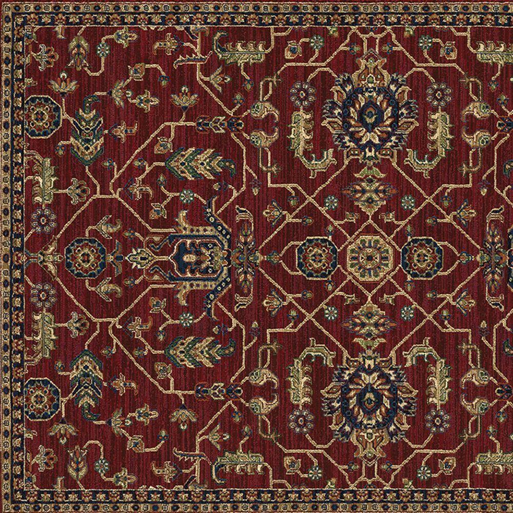 "Oriental Weavers Ankara Oriental 531R5 6'7"" x 9'6"" Red and Blue Area Rug, , large"