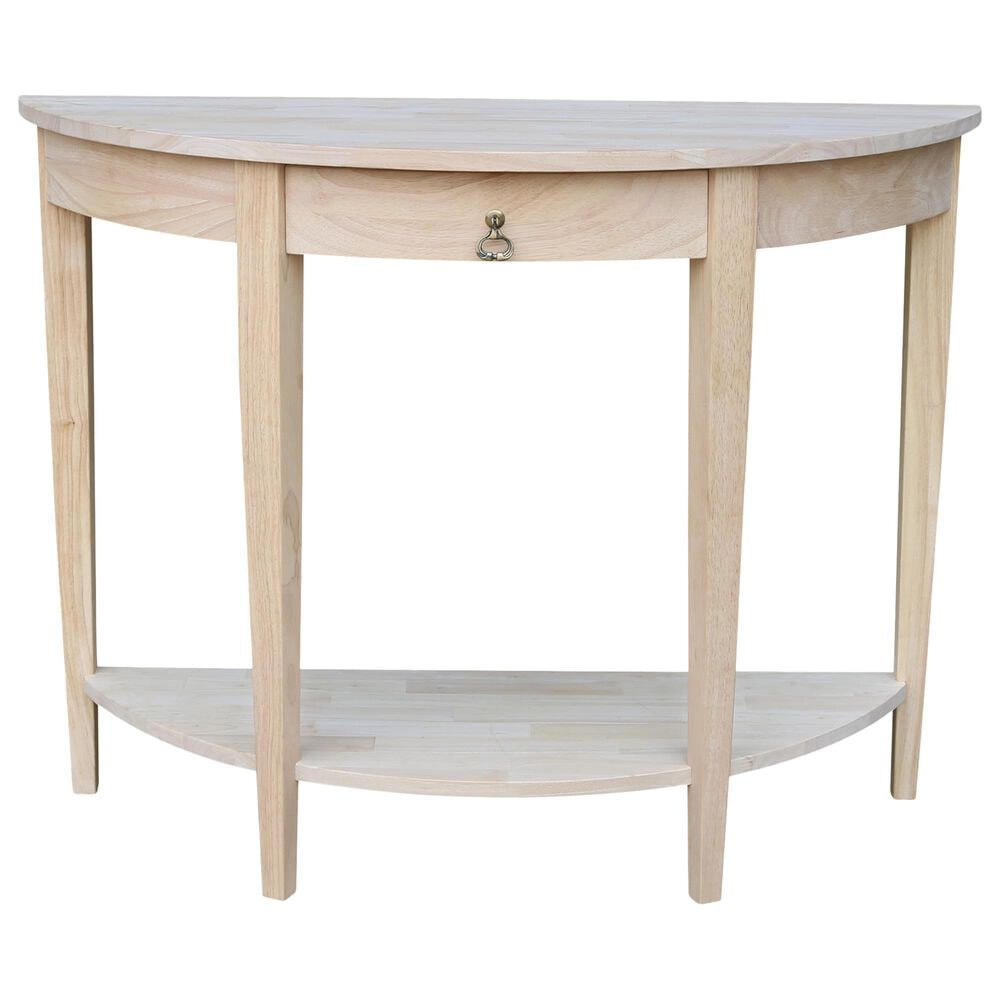 International Concepts Console Table in Unfinished, , large