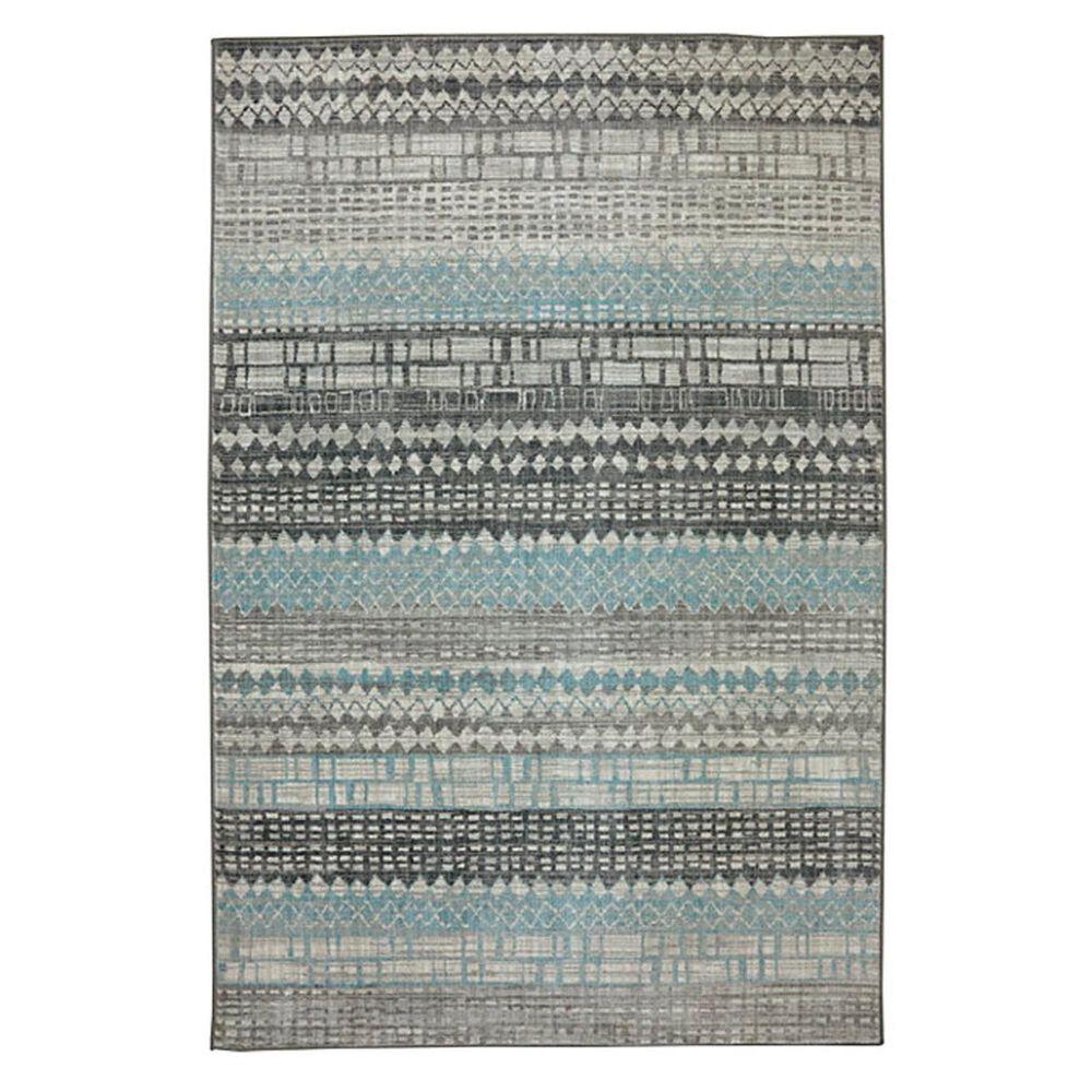 Karastan Euphoria Eddleston 90263 8' x 11' Ash Grey Area Rug, , large