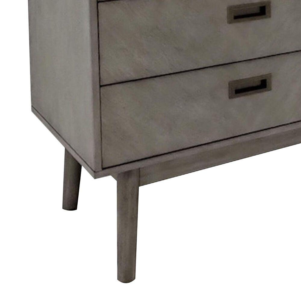Safavieh Donald 6 Drawer Dresser in Light Grey, , large