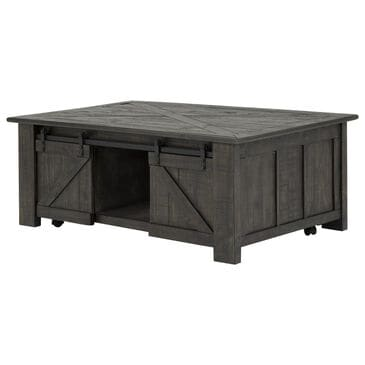 Nicolette Home Garrett Rectangular Lift-Top Cocktail Table in Weathered Charcoal, , large