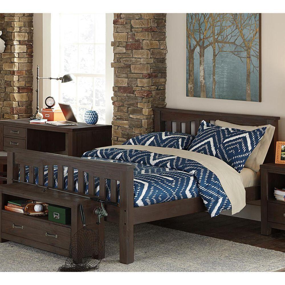 Richlands Furniture Highlands Harper Full Bed in Espresso, , large
