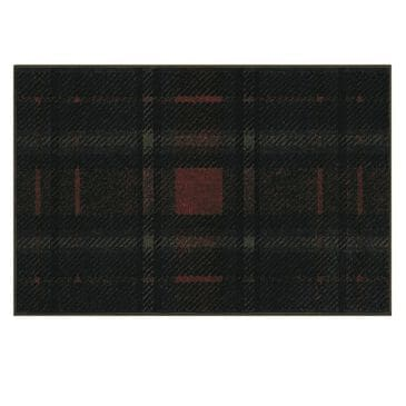 Nourison Holiday Christmas 790JT 2' x 3' Black Door Mats, , large