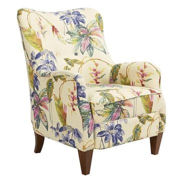 Jennifer Taylor Home Paradise Upholstered Arm Chair Off-White/Floral, , large