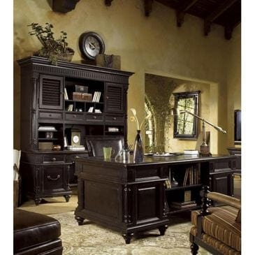 Tommy Bahama Home Kingstown Admiralty Executive Desk in Tamarind, , large