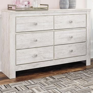 Signature Design by Ashley Paxberry Dresser in  White Wash , , large