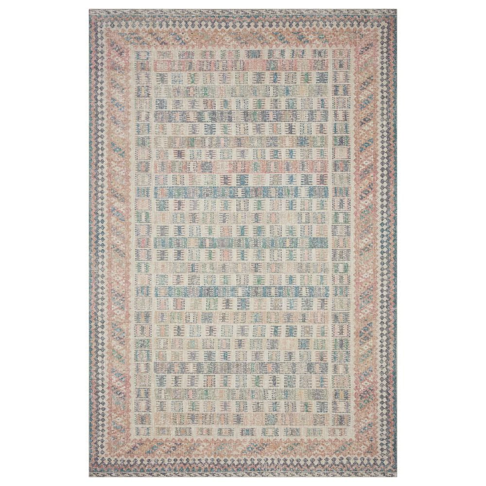 """ED Ellen DeGeneres Crafted by Loloi Alameda ALA-05 3'6"""" x 5'6"""" Blush and Lagoon Area Rug, , large"""