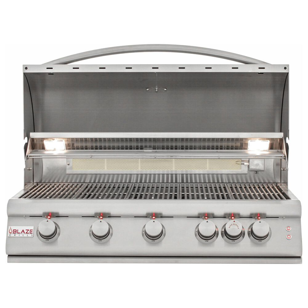 """Blaze 40"""" LTE Natural Gas Grill with 5-Burner in Stainless Steel, , large"""