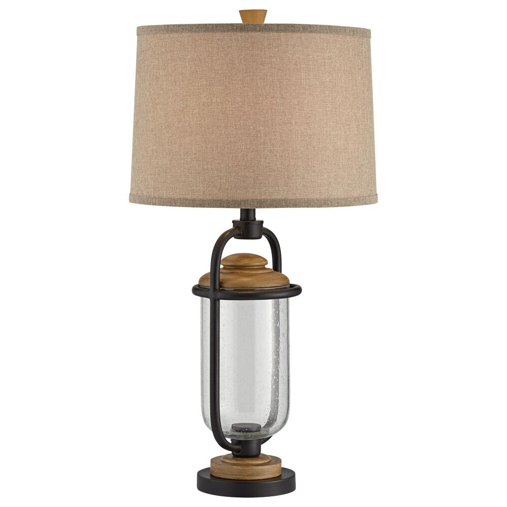 Pacific Coast Lighting Darby Table Lamp in Matte Black, , large