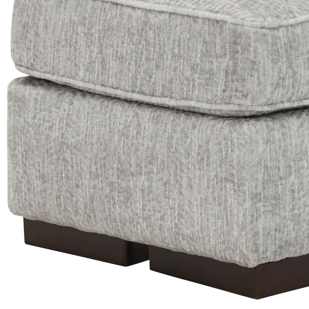 Signature Design by Ashley Mercado Ottoman in Pewter, , large