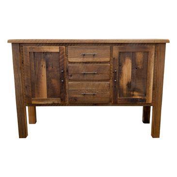 Daniel's Amish Collection Reclaimed Barnwood Sideboard in Barnwood Oak, , large