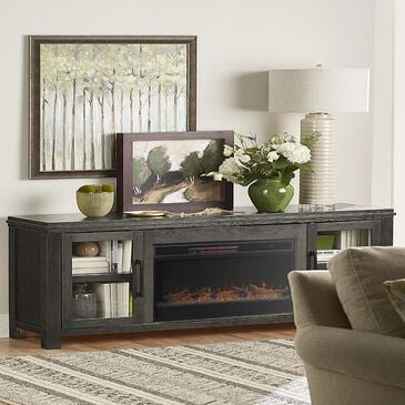 """Endress International Tybee 86"""" Fireplace Console in Clove, , large"""