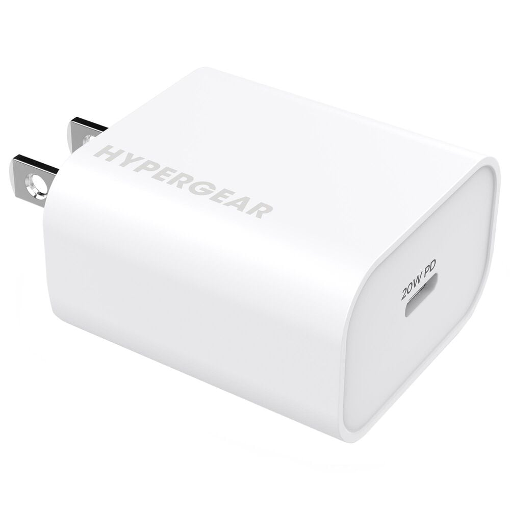 Hypergear 20W USB-C PD Wall Charger in White, , large