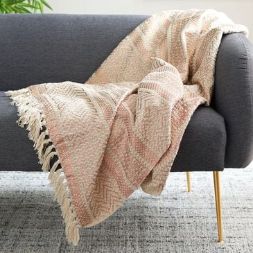 Safavieh Becks Throw in Copper and Beige, , large