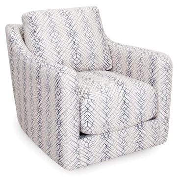 Moore Furniture Argentine Swivel Chair in Twilight, , large