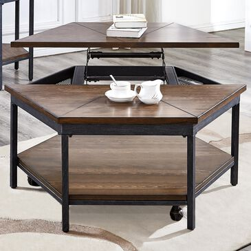 Steve Silver Ulla Lift-Top Coffee Table in Mocha, , large